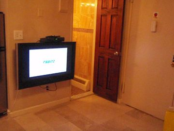 Living area 42 inch LCD TV (Suite 1E)