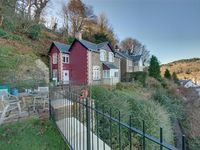 Briar Cottage ~ on a hillside overlooking the village of Lynton