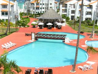 Punta Cana condo photo - Pool at Stanza Mare (view from our terrace)