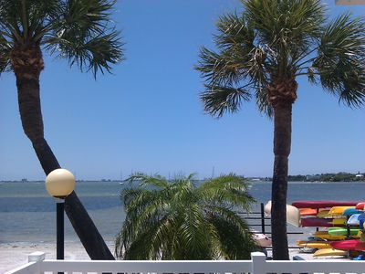 St Petersburg townhome rental - Overlooking Boca Ciega Bay - view from Beach Pool Deck