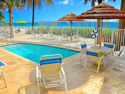 Seaward's Breathtaking Oceanfront Lounge Offers Heated Pool + Private Beach...