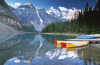 Canmore condo photo - Lake Moraine.. a hidden gem just 20 minutes from Lake Louise