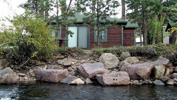 View Of Cabin From Other Side Of The Big Thompson River