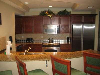 Fully furnished kitchen with Viking appliances
