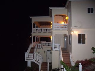 Marigot Bay villa photo - Night View