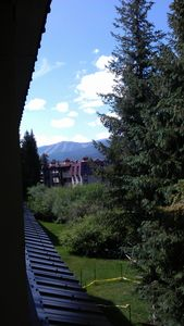 View of Winter Park Ski Resort from the condo.