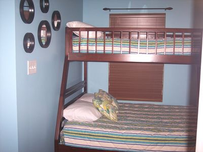 Double Bed & Twin bed.