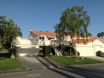 Palm Desert condo rental - Front view of condo. 2nd level leads to great views. Includes garage.