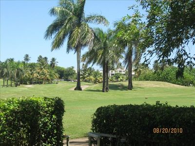 View of 15th Hole from Patio