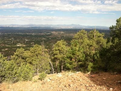Summit of Mount Atalaya (9121 feet). Trailhead is a 5-minute drive from our home