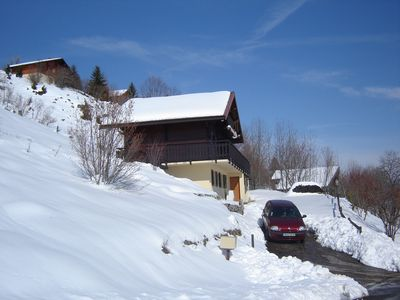 Typical chalet FONCINE the HIGH 1000m label clévacances 3 keys