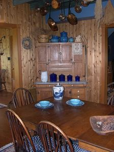 Full Country Kitchen in Ranch House.