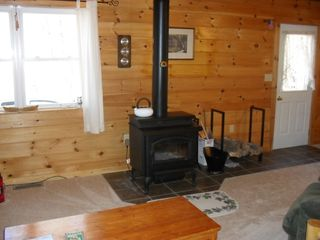 Greenville cabin photo - Renters can enjoy a nice, relaxing, warm and cozy fire on those chilly nights.