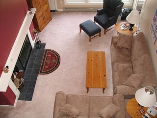 Waterville Valley condo photo - Spacious Living Area, Cathedral Ceilings, and Loft