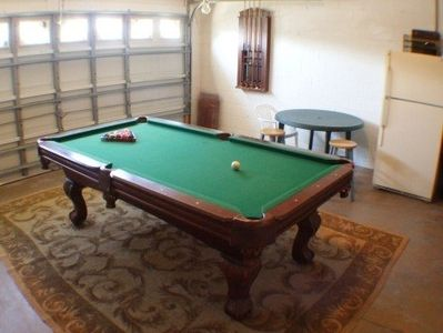 Games room with Beer fridge!