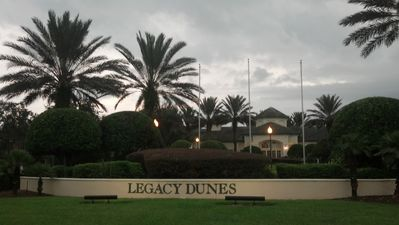 Legacy Dunes Resort entrance