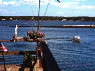 Westport Island cottage photo - looking East from deck across the Sheepscot River