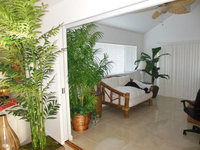 Maunaloa estate rental - Entrance to study area