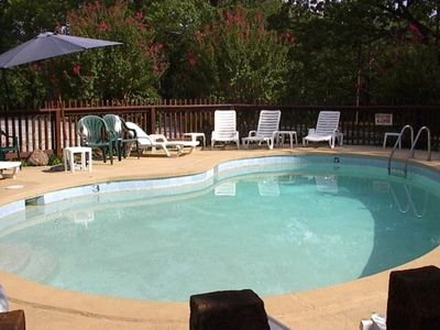 Pool at Rocky Branch Resort for you to use