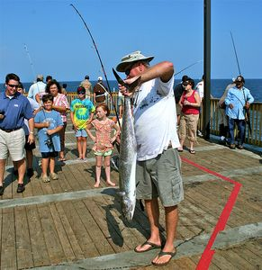 Fishing Pier 2 miles from Condo at Gulf State Park - Rent fishing gear there