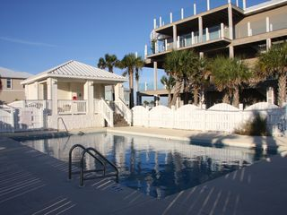 Pensacola Beach house photo - Beach Waves looks over the community pool