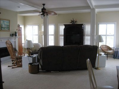 Spacious Living Room