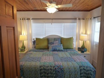 Celadon Beach Resort cottage rental - King Beds and New Samsung 32in Flat Screens in every Bedroom...