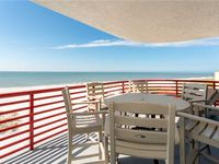 Ultimate Designer Luxury - Top Floor Corner, Sweeping Beach & Gulf Views from Private Balcony
