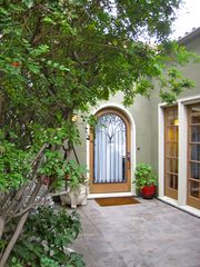 Los Angeles house photo - French doors and Spanish detailing