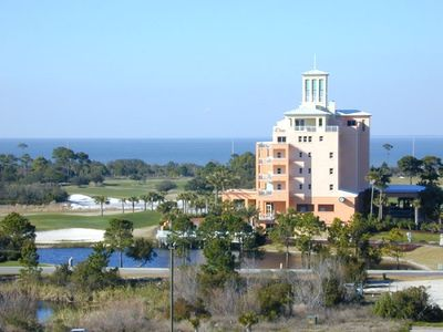 View of the Golf Course and the Mobile Bay