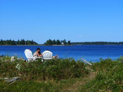 Owls Head cottage rental - Shoreline