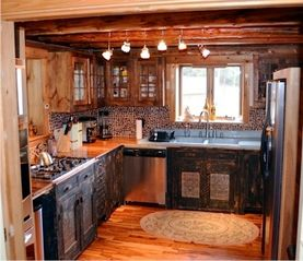 Lake Placid cabin photo - Kitchen