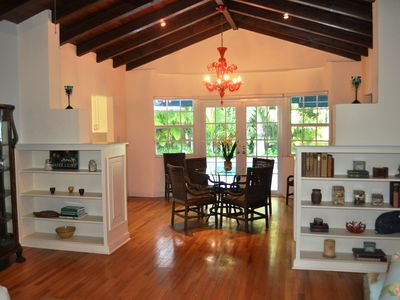 Coconut Grove house rental - Dining area