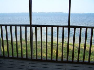 Lillian house rental - View from front porch of Perdido Bay.