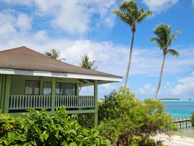 Beautiful two bedroom beachfront home!