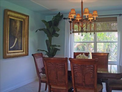 Formal but fun Dining Room