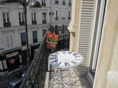 Sunny balconny: perfect to enjoy a nice breakfast