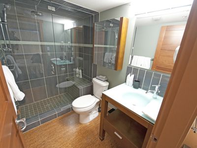 Master Ensuite with Sit & Relax Steam Shower