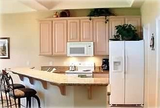 Fully Equiped Kitchen with Granite Counters