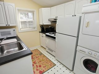 Branford house photo - Kitchen includes all utensils, washer, dryer, dishwasher, coffee maker, Keurig