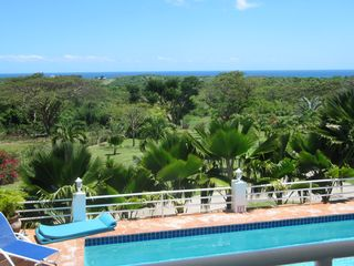 Vieques Island house photo - The view from upstairs.