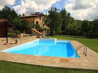 """Renewed apartment in old stone house """"Barn"""" with pool, sauna and garden"""