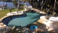 Coastal Living Beach Cottage With Gorgeous Natural Pond Pool