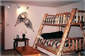 Twin and double Bunks w/ Trundle & Full Size Baby Crib on Ground Floor
