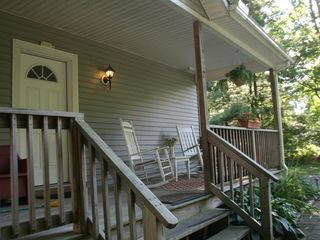 Bantam Lake house photo - Front porch