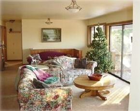 Living Room with view of Lake Pend Oreille