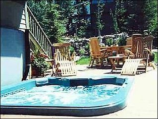 Breckenridge townhome photo - Private Hot Tub