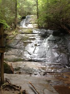 Fall creek falls: Just one of the many waterfalls in the area