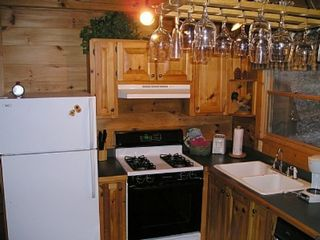 Ellijay cabin photo - The kitchen has everything you need.
