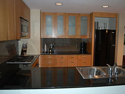 Granite Kitchen Counters in Condo